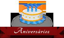 Eventos para aniversários